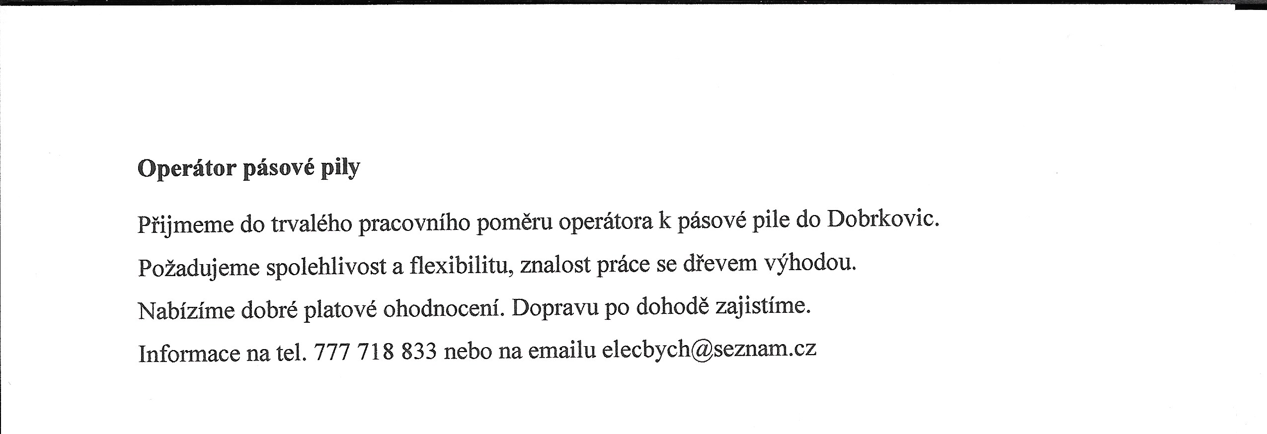 Dobrkovice 2 květen 2016